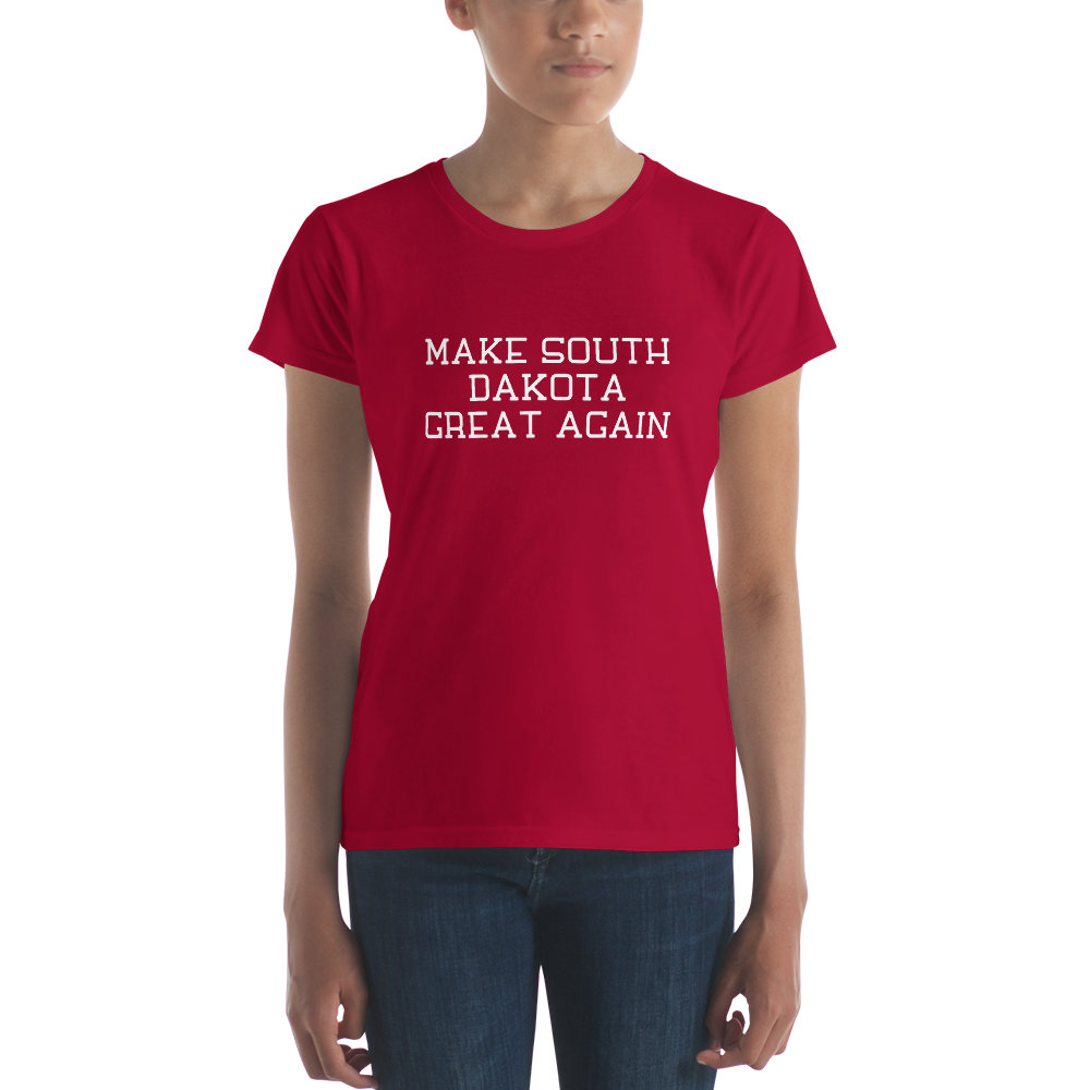 Make South Dakota Great Again Women's Short Sleeve T-shirt
