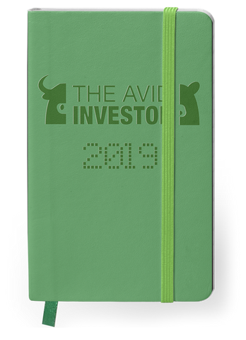 The Avid Investor 2019 Planner- A Planner Designed for Traders