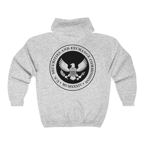 Securities and Exchange Commission S.E.C Unisex Heavy Blend™ Full Zip Hooded Sweatshirt