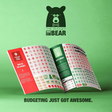 Load image into Gallery viewer, Budget Bear Budgeting Stickers - Create a Personal Budget and Teach Your Kids Budgeting the Fun Way