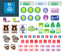 Load image into Gallery viewer, Budget Bear Budgeting Stickers - Create a Personal Budget the Fun Way