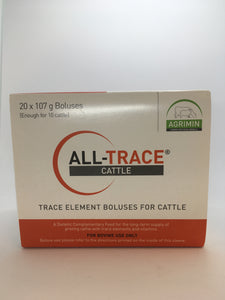 Agrimin All Trace Cattle (20 boluses)