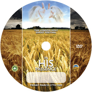 In His Presence (DVD)