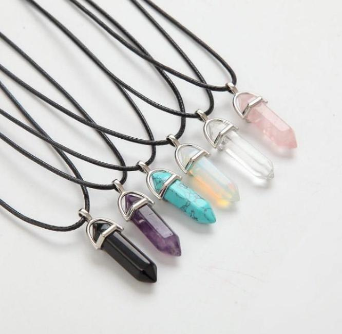 Natural Crystal Necklaces