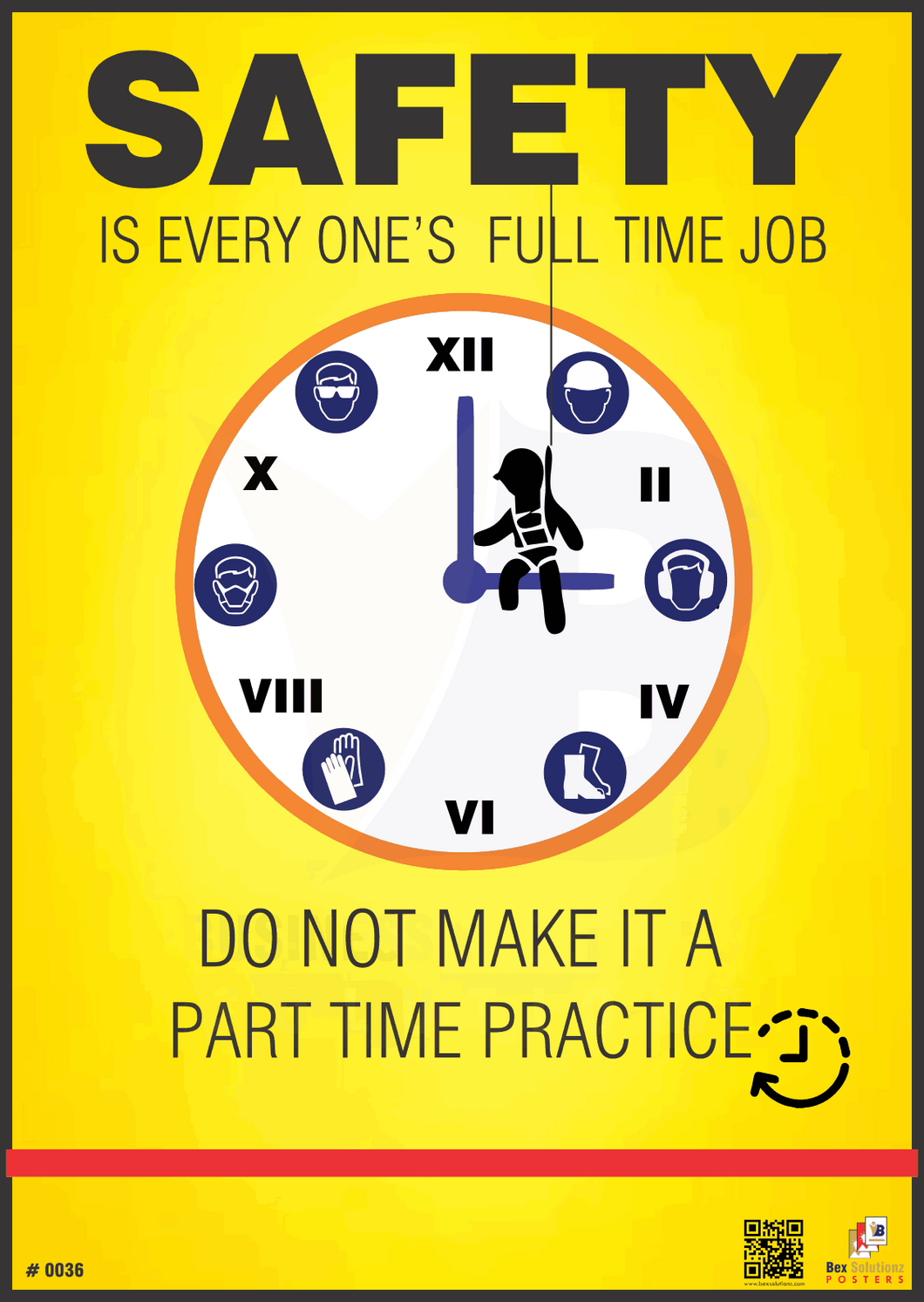Safety Poster #0036-Safety everyone's full time job