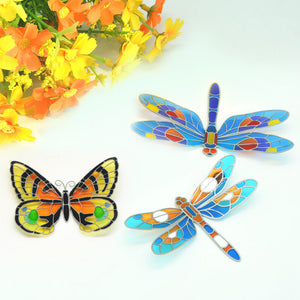 ACEVER_FRIDGE_MAGNET_BUTTERFLY_DRAGONFLY