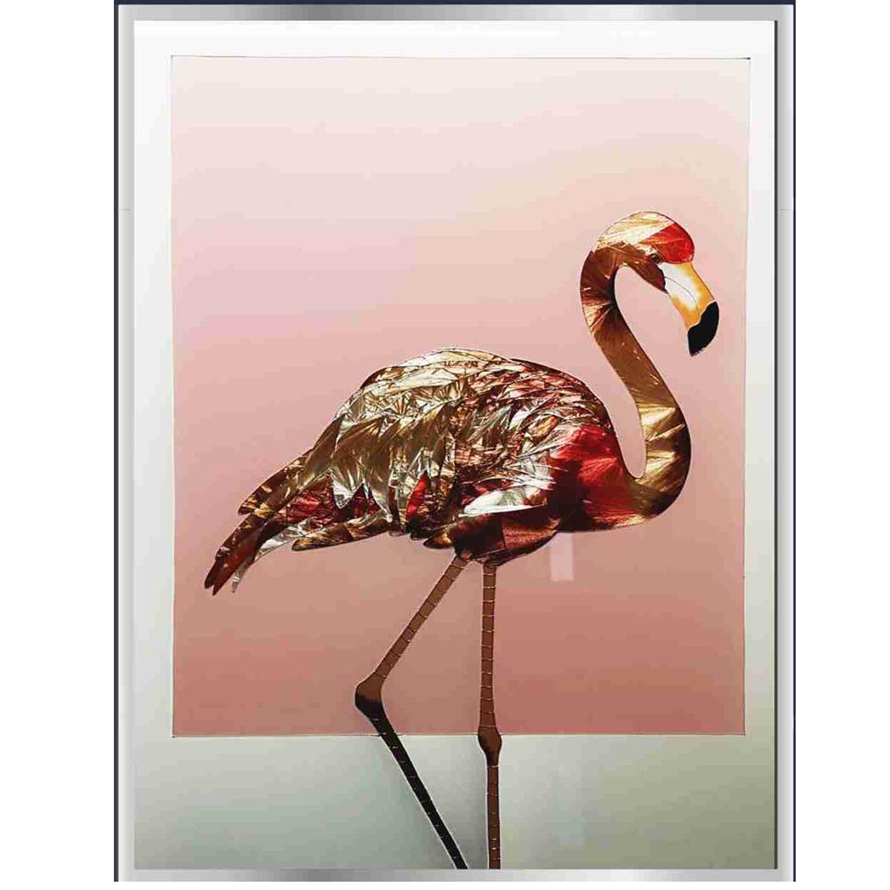 ACEVER_GLASS_STANDING_FLAMINGO