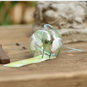 ACEVER_GLASS_WIND_CHIME_WHITE_RABBIT