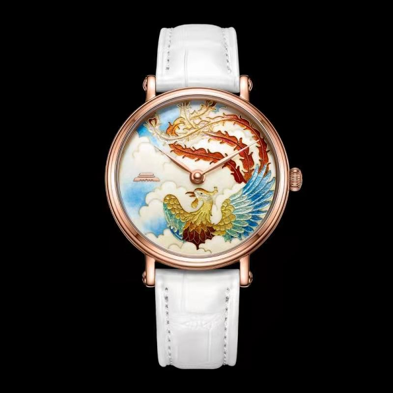 Cloisonne Enamel Watch Dial for Luxury Fashion Watch (Phoenix)