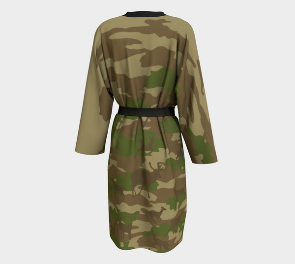 Peignoir Robe Hunter 1 - Mask Brand Camo Design Clothing, Bags and Accessories