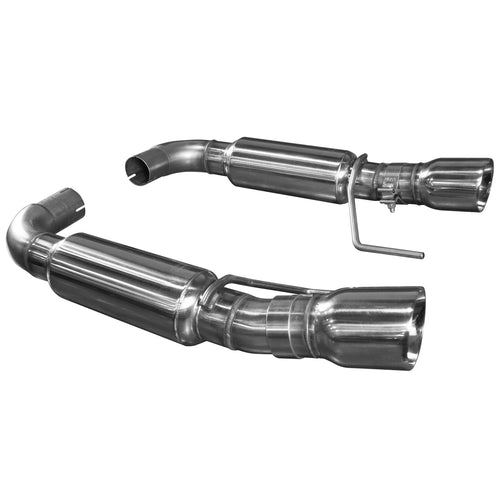 "2015+ Mustang GT 5.0L OEM to 3"" Axle Back Exhaust w/Polished Tips"