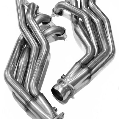 "2009-2014 Cadillac CTS-V 1 7/8"" x 3"" Stainless Steel Long Tube Headers"