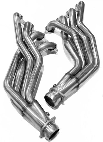 "2009-2014 Cadillac CTS-V 2"" x 3"" Stainless Steel Long Tube Headers"