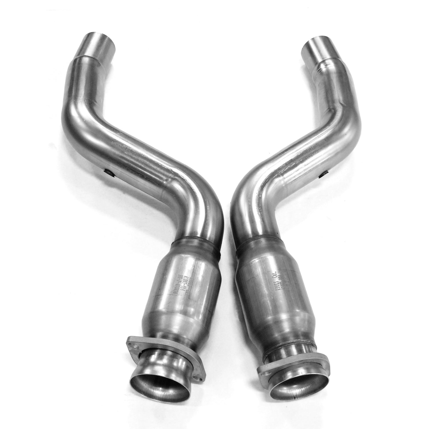 "2005+ Dodge Magnum/Charger/Challenger and Chrysler 300C SRT8/Hellcat 3"" x OEM"" Catted Connection Pipes"
