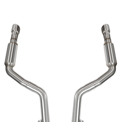 "2015+ Dodge Charger SRT8 OEM x 3"" Catback Exhaust with Polished Tips"