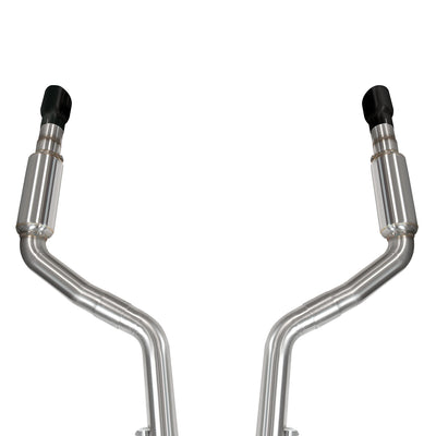 "2015+ Dodge Charger SRT8 OEM x 3"" Catback Exhaust with Black Tips"