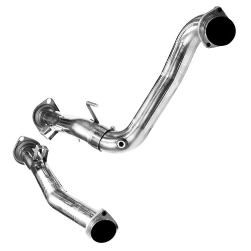 "2006-2010 Jeep Grand Cherokee SRT8 3"" Off Road Connection Pipes"
