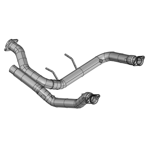 "2017+ Ford F-150 Raptor Non-Catted 3"" Downpipe EcoBoost V6 3.5L"
