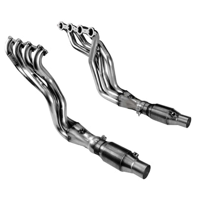 "2010-2015 Camaro SS/1LE/Zl1 1 7/8"" Header and Catted Connection Pipe Kit"