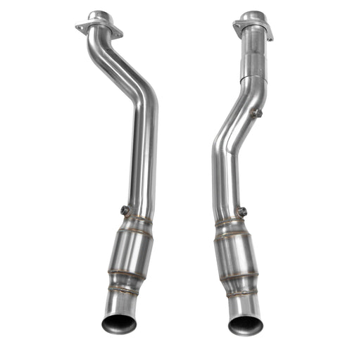 "2011+ Dodge Durango 5.7L / 2012+ Jeep Grand Cherokee WK2 5.7 3"" x OEM High Flow Catted Connection pipe"