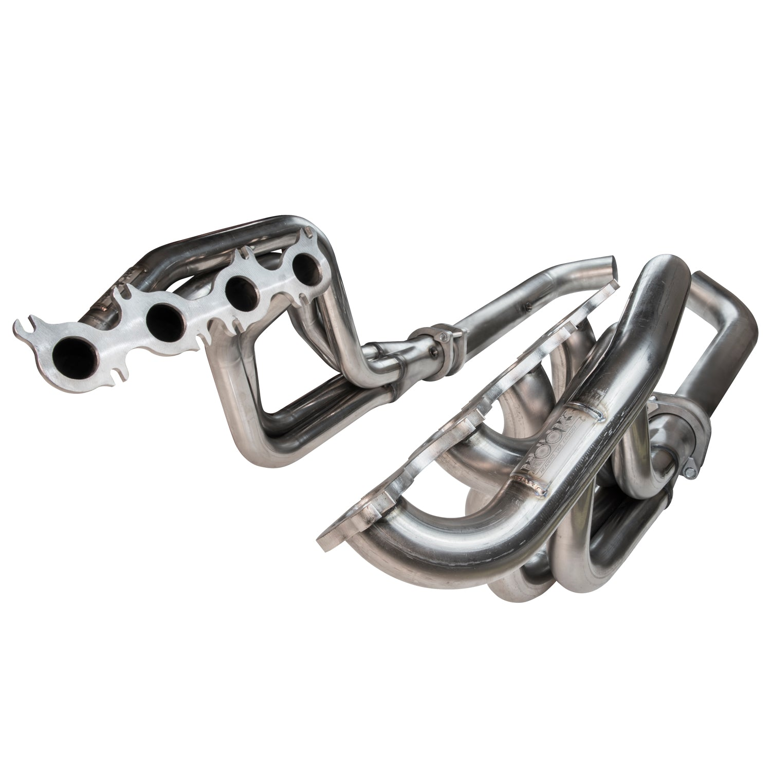 "RIGHT HAND DRIVE 2015 + Mustang GT 5.0L 1 3/4"" x 3"" Stainless Steel Long Tube Header w/ Off Road (Non-Catted) Connection Pipe"