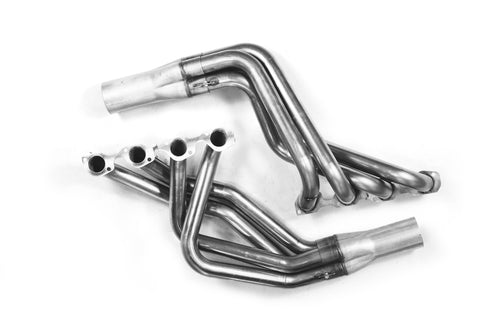 "1979-1993 Ford Mustang 1 7/8"" x 3"" Header For Trick Flow ""H/P"" Street Heat / Brodix Track 1 (New Style Cylinder Heads)"
