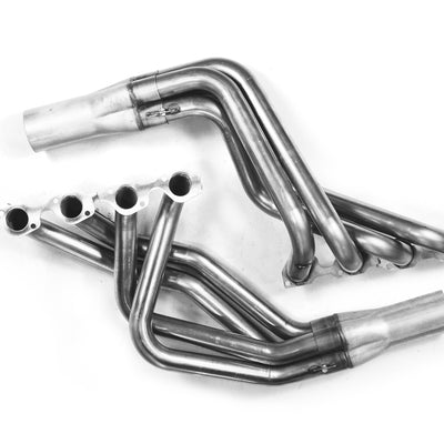"1979-1993 Ford Mustang 2"" x 3 1/2"" Header For Edelbrock Victor Jr. / AFR 165 & 185 / Trick Flow T-Wedge / SVO GT40 / Brodix St. / 5.0 / Dart 170 & 195 Cylinder Heads"