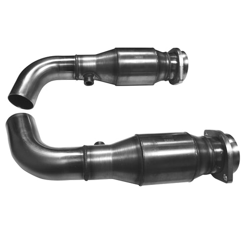 "2008-2009 G8 GT/GXP 3"" x OEM Corsa Catted Connection Pipes"
