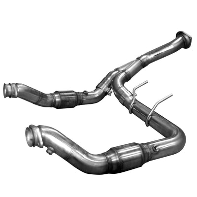 "2011-2014 Ford F-150 EcoBoost GREEN Catted 3"" Downpipe V6 3.5L"