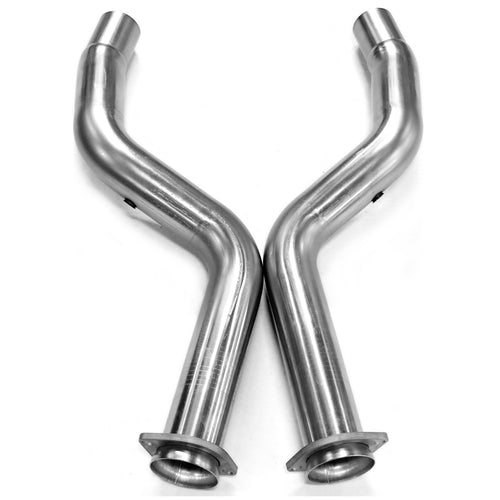 "2005+(R/T) Dodge Magnum, Charger, Challenger, & Chrysler 300 3"" x OEM Off Road Connection pipes"