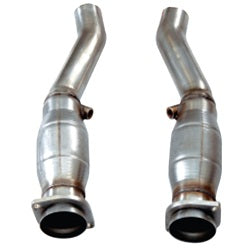 "2004-2007 Cadillac CTS-V 3"" x OEM Catted Corsa Connection Pipes"