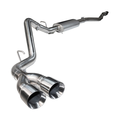 "2015+ Ford F150 Short Wheel Base Truck OEM x 3"" Cat Back Exhaust w/ Polished Tips"