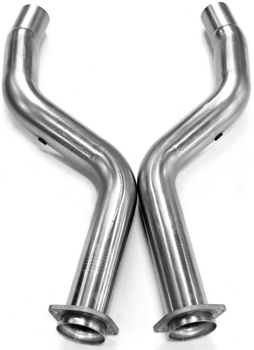 "2005+ Dodge Magnum/Charger/Challenger and Chrysler 300C SRT8/Hellcat 3"" x OEM Off Road Connection Pipes"