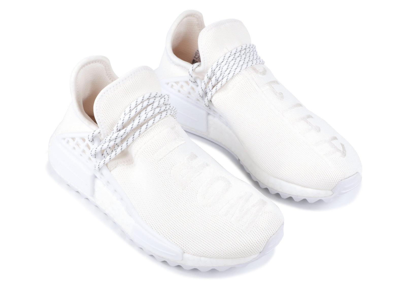 innovative design 117e9 55de4 PHARELL HUMAN RACE TRAIL WHITE/CREAM
