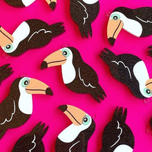 Tallulah the Toucan Statement Dangles