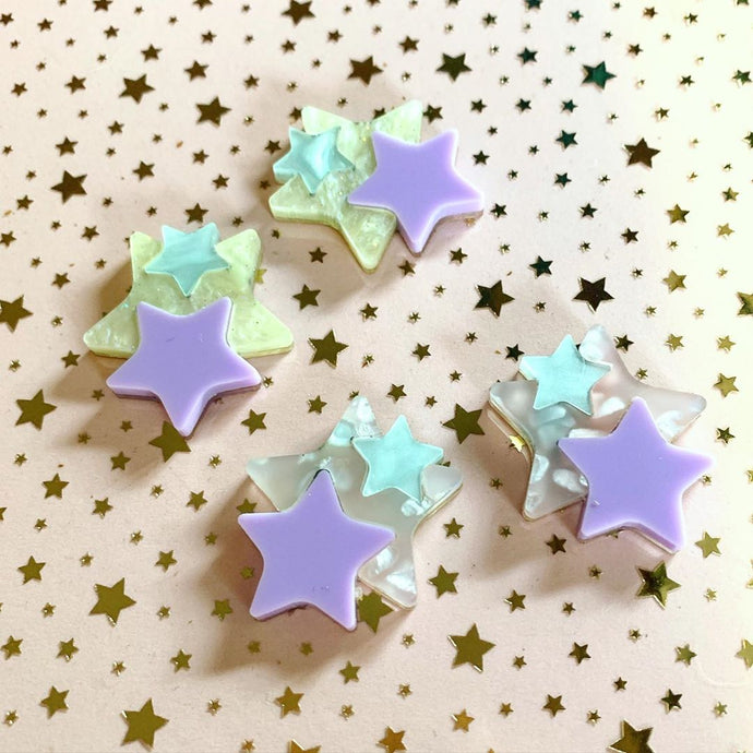 Butter Dreams - Star Studded Studs