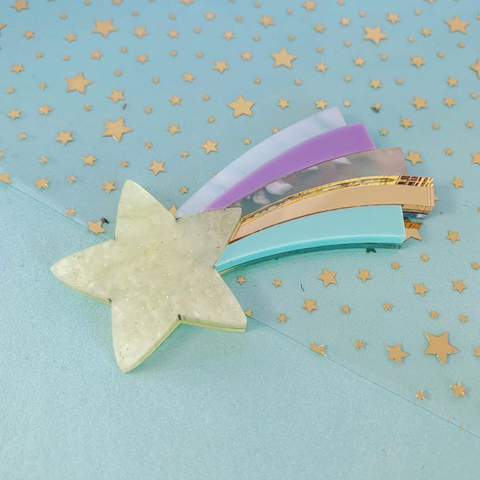 Butter Dreams - Shooting Star Brooch