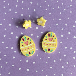 Pastel Easter Egg Stud Set