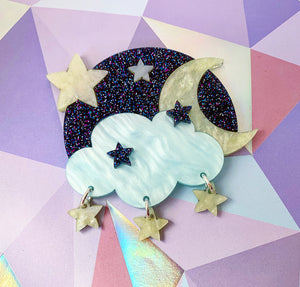 Butter Dreams - Starry Starry Night Brooch