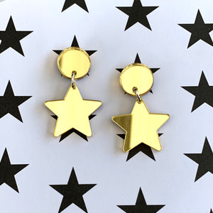 Golden Star Mini Dangles