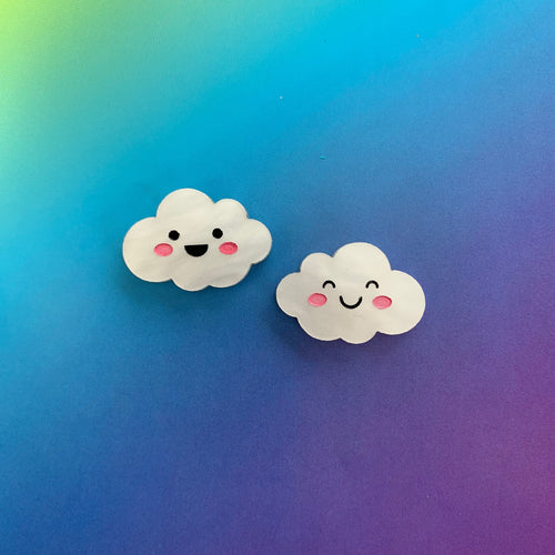 Head in the Clouds Stud Earrings