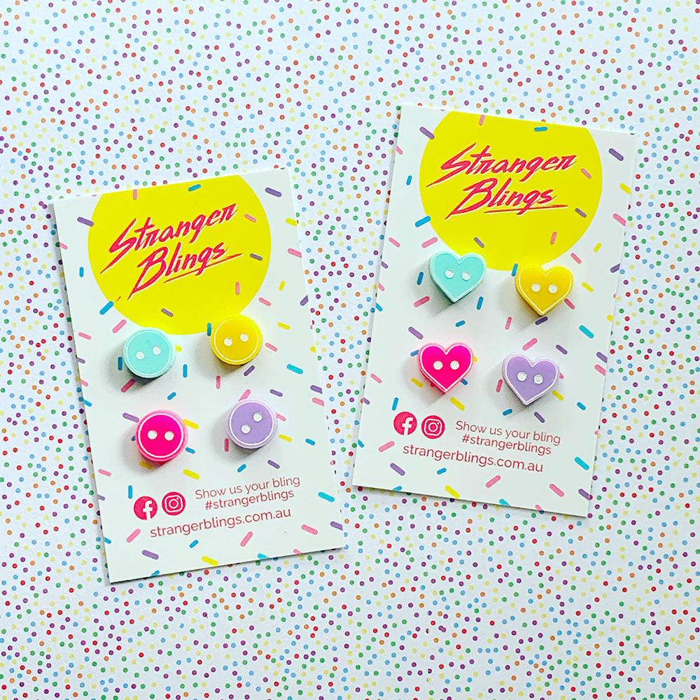 Mini Button Stud Sets