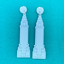 Travel Trinket Statement Dangles - CHOOSE YOUR CITY