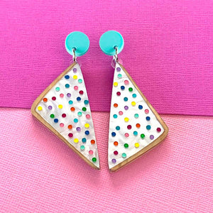 Fairy Bread Statement Dangles