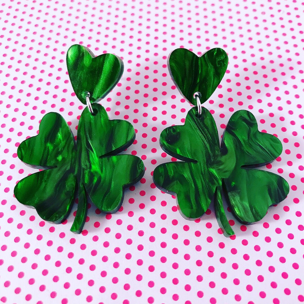 Lucky Charm St Patrick's Day Dangles - CHOOSE YOUR STYLE