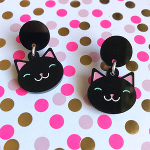 Little Purrers Mini Dangles - BLACK