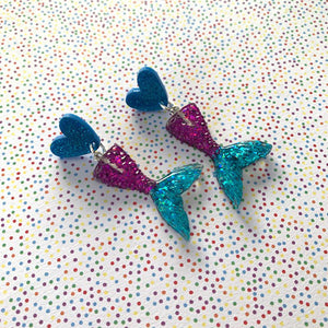 Mermaid Dangles - Choose your colour