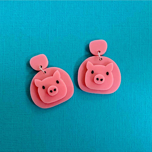 Little Pig Statement Dangles