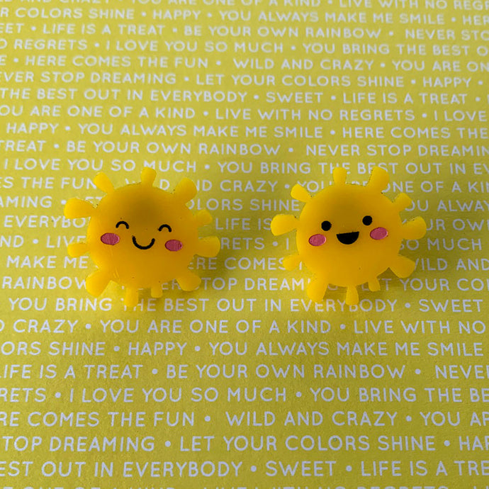 Hello Sunshine Stud Earrings