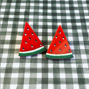 Fun and Fruity Watermelon Studs